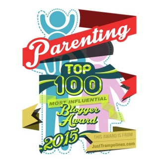 Top 100 Most Influential Parenting Blogs 2015 Award