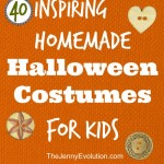 40 Awesome Halloween Costumes for Kids You Can Actually Make! | The Jenny Evolution
