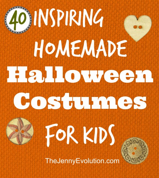 40 Awesome Halloween Costumes for Kids You Can Actually Make! | Mommy Evolution