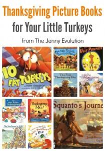 Thanksgiving Picture Books for your Little Turkeys | The Jenny Evolution #kidlit