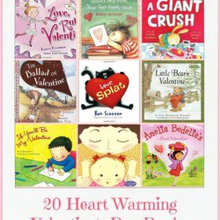 20 Valentine Children's Picture Books You Will Love