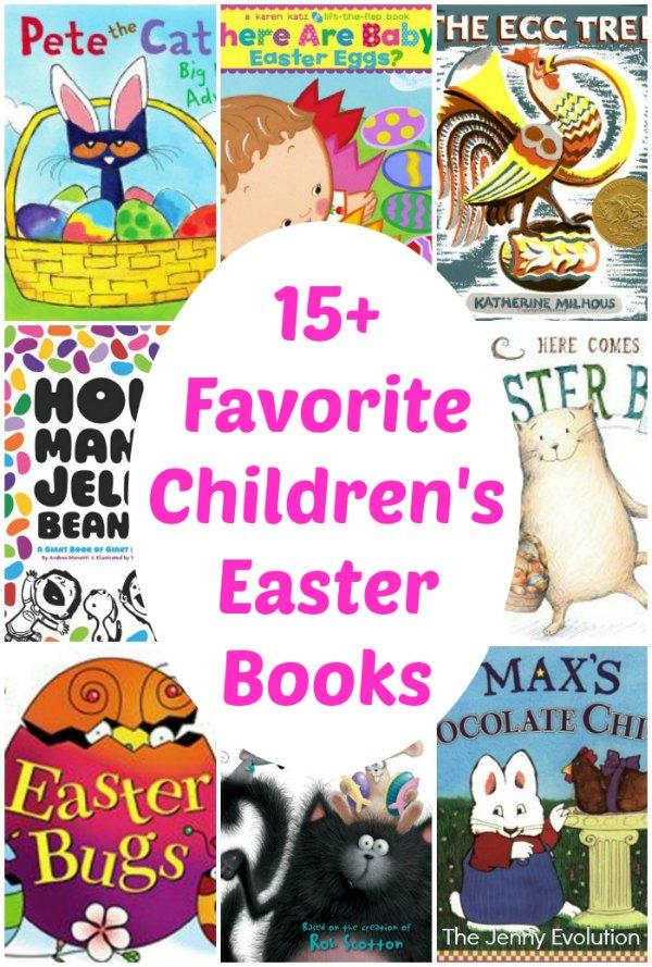 15+ Favorite Children's Easter Books | The Jenny Evolution
