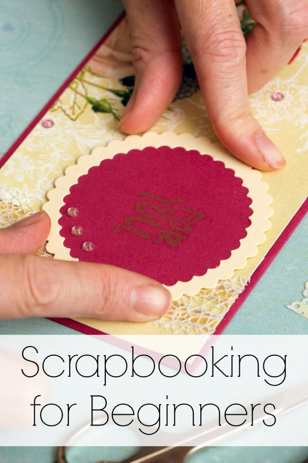 Scrapbooking for Beginners | Mommy Evolution