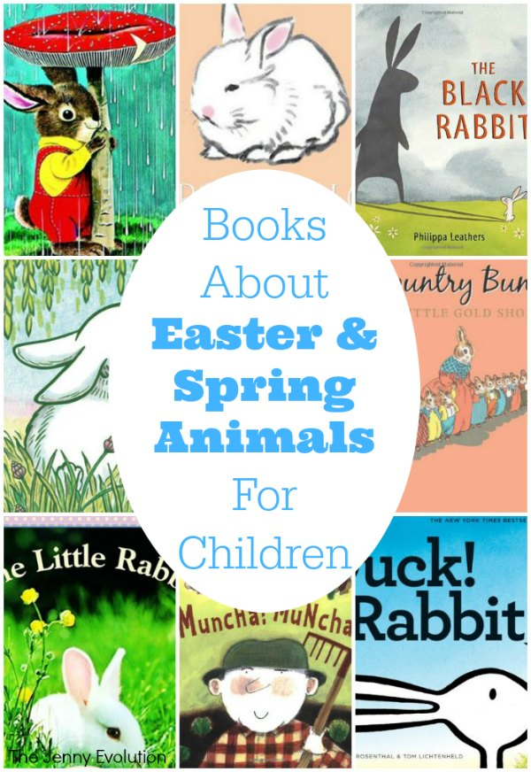 Picture Books about Easter and Spring Animals for Children | The Jenny Evolution