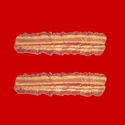 Bacon Equal Gay Rights Red Campaign Facebook Profile Pic