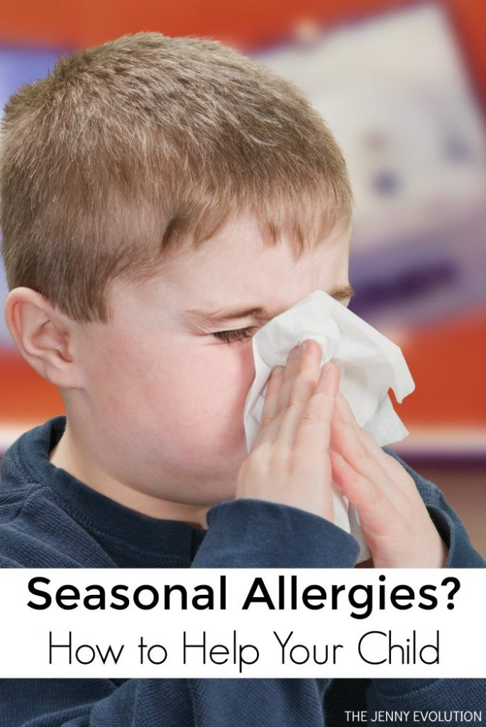 Does your child have seasonal allergies in the fall and spring? Here are tips on how to help your child feel better!