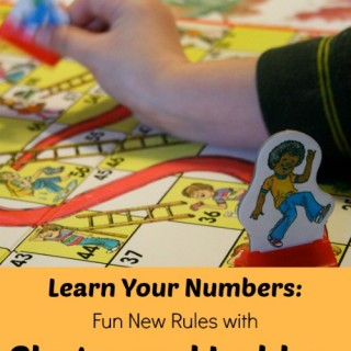 A fun twist on the game! ers with Chutes and Ladders