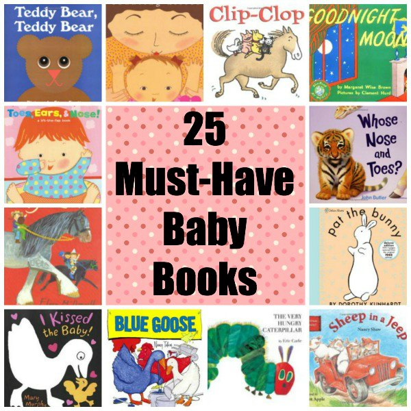 25 must have baby board books for infants