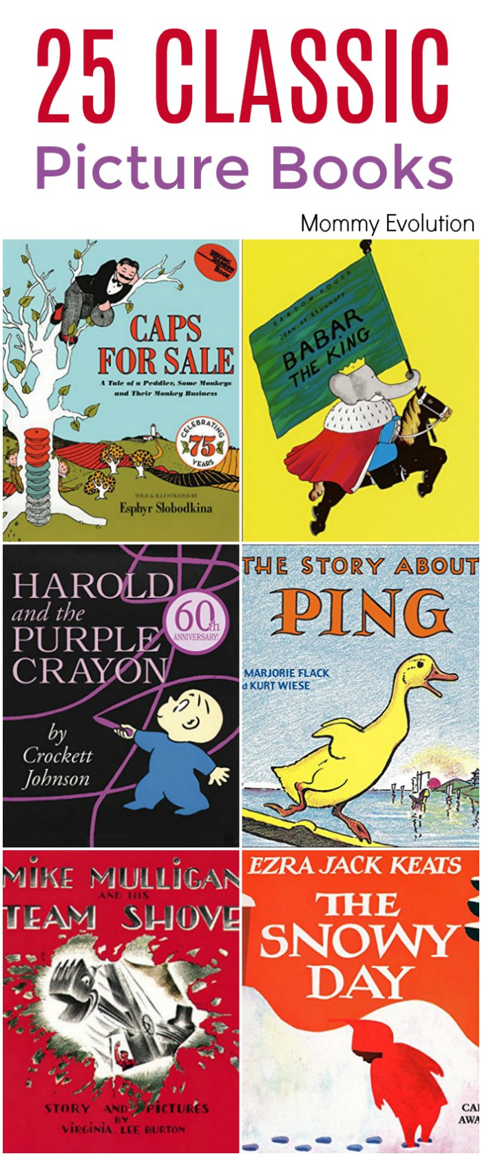 classic picture books for kids!