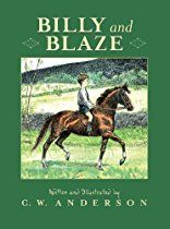 Billy and Blaze: A Boy and His Pony By C.W. Anderson picture book