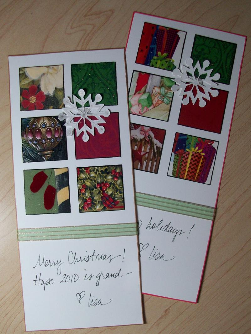 Ideas For Christmas Cards To Make.Old Christmas Cards Make A Holiday Collage