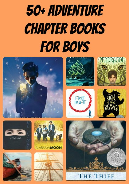 Adventure chapter books for boys