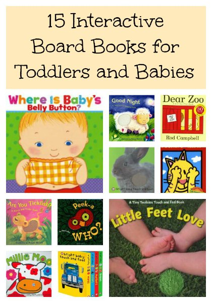 interactive board books for toddlers