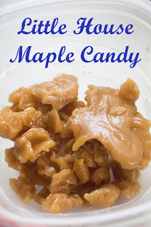 little house maple candy children can make on their own