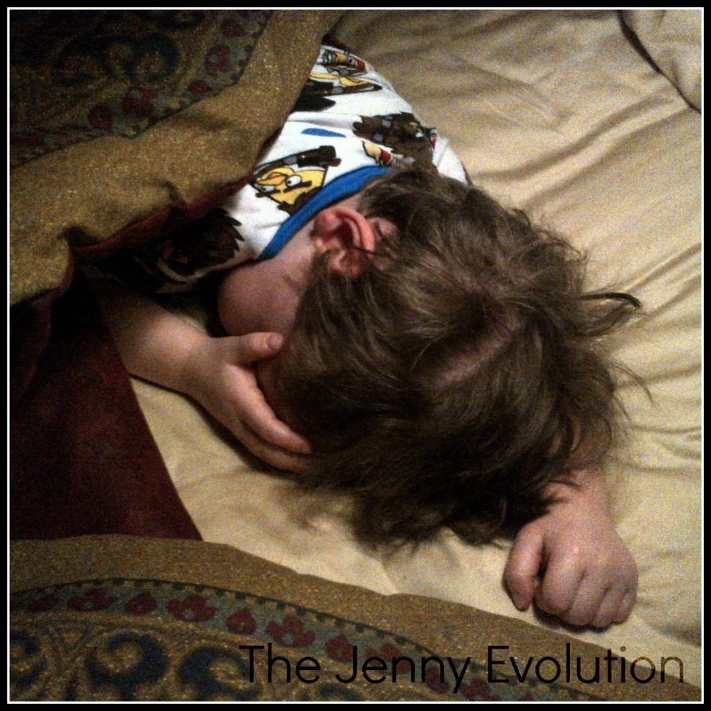 Just Let Me Sleep @ Mommy Evolution