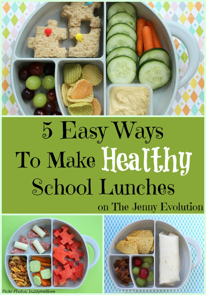 5 Easy Ways to Make Healthy School Lunches #backtoschool