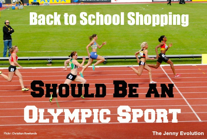 Back to School Shopping Should Be an Olympic Sport