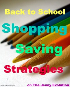 Back to School Shopping Savings