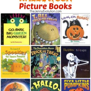 40 Family-Friendly Children's Halloween Picture Books | The Jenny Evolution www.thejennyevolution.com