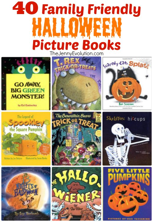 40 family friendly childrens halloween picture books the jenny evolution wwwthejennyevolution - Halloween Kids Books