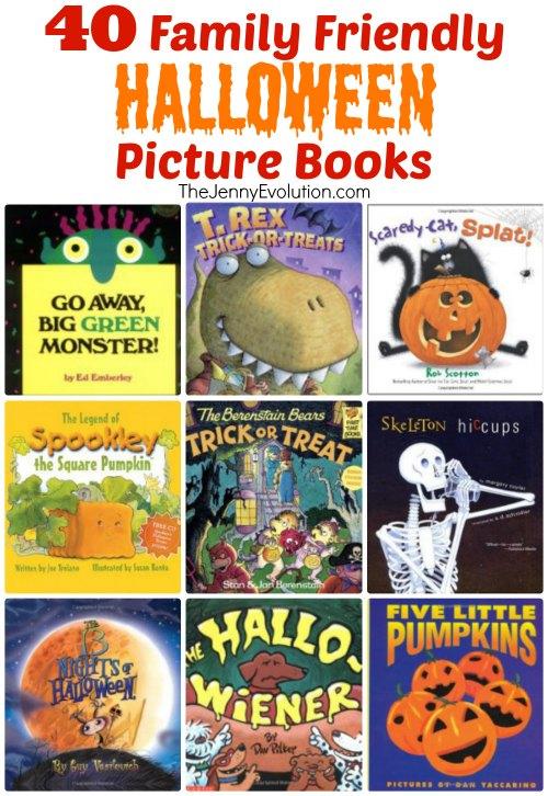 40 Family-Friendly Children's Halloween Picture Books | Mommy Evolution www.thejennyevolution.com