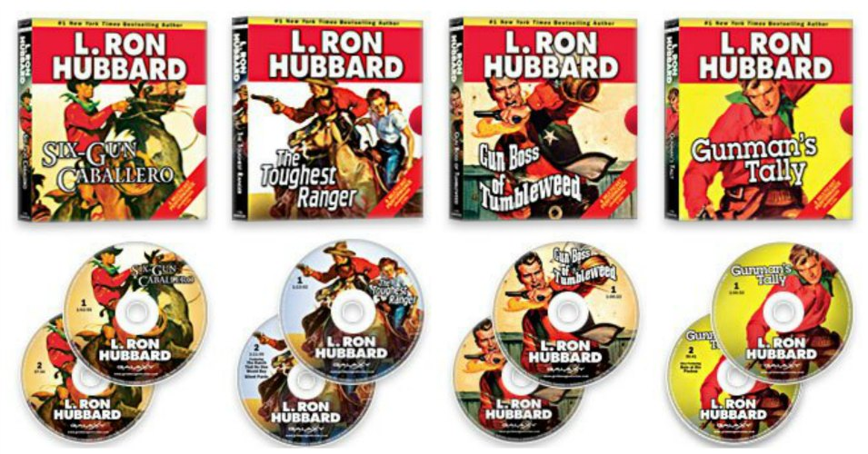 L. Ron Hubbard Audio CD Giveaway