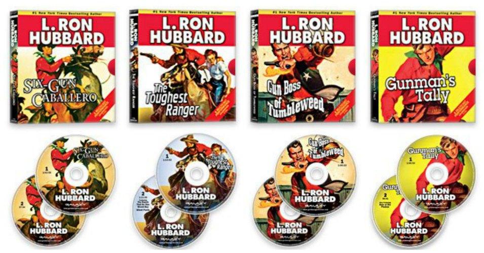 L. Ron Hubbard Audio CD Giveaway