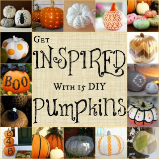 15 Inspiring DIY Pumpkins for Halloween and Fall | The Jenny Evolution