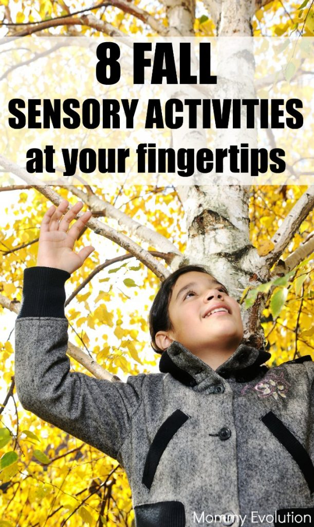 8 NO PREP Fall Sensory Activities at Your Fingertips | Mommy Evolution