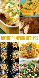 Divine Pumpkin Recipes