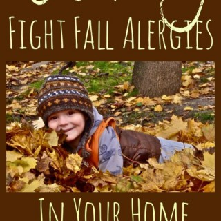 Naturally Fight Fall Allergies in Your Home | The Jenny Evolution