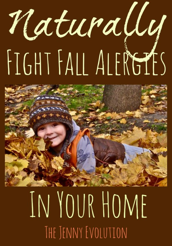 Naturally Fight Fall Allergies in Your Home - Mommy Evolution