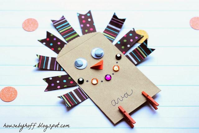 Little Turkey Craft | eighteen 25 #thanksgiving #craft