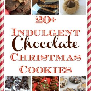 20+ Indulgent Chocolate Christmas Cookies: Ultimate Holiday Cookie Round-Up