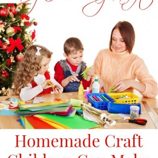 Easy Holiday Craft Gift Children Can Make For Christmas