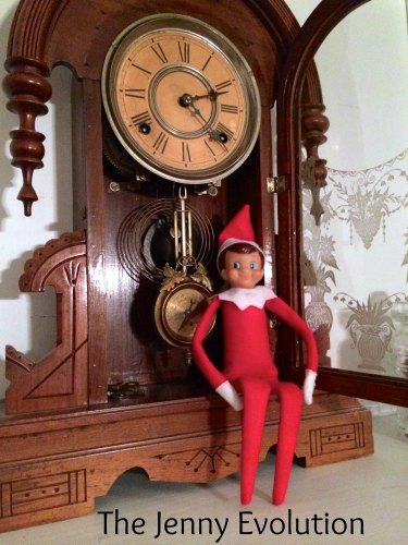 ... Peppermint Stick thought he'd be cheeky and sneak into the clock