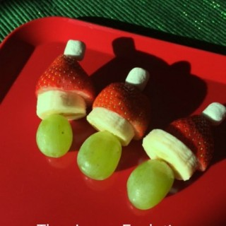 Simple Healthy Christmas Snack for Kids