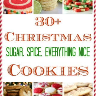 Christmas Sugar, Spice and Everything Nice Cookie Round-Up