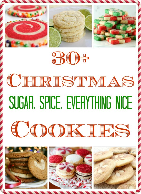 Sugar Cookie Recipes for Christmas! Sugar cookies, spice cookies