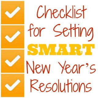 A Checklist for Setting SMART New Year's Resolutions