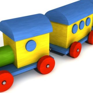 Toy Train Sets Benefit Children's Growth and Development