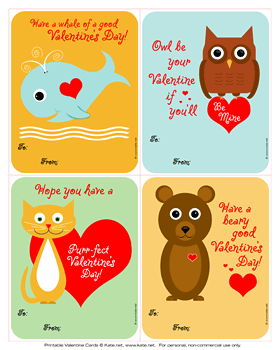 image relating to Printable Kids Valentines Cards titled 60 Absolutely free Valentines Working day Cl Card Printables for Small children