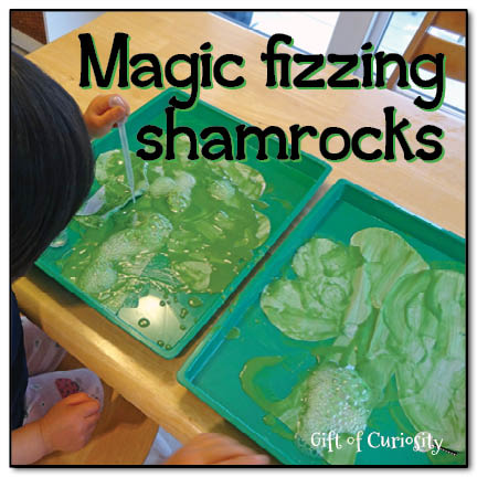 Magic Fizzing Shamrocks. Click for 10 More Easy St. Patrick's Day Craft