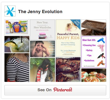 The Jenny Evolution on Pinterest