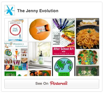 The Jenny Evolution Pinterest