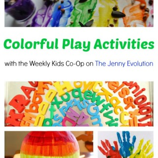 Colorful Play Crafts and Activities