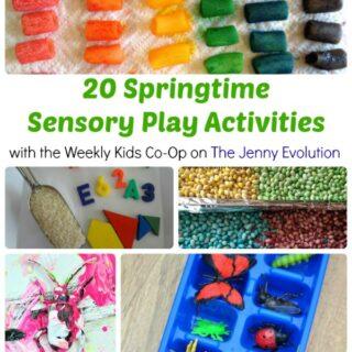 20 Springtime Sensory Play Activities