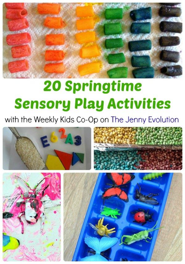 20 Springtime Sensory Play Activities #sensory #spring