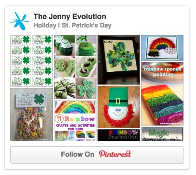The Jenny Evolution St Patrick Day Pinterest