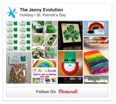 The Jenny Evolution St Patrick Day Pinterest